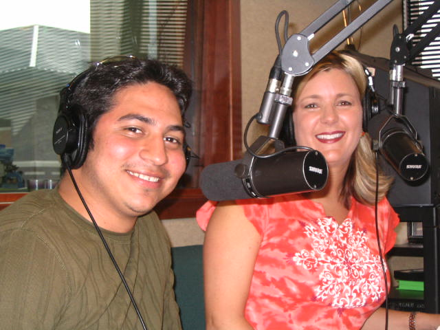 Tina & Eduardo at the studio
